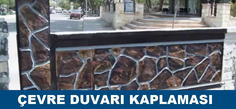 Ankara çevre duvar kaplama ustası