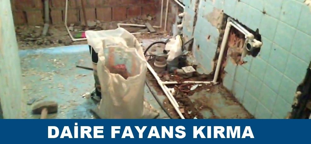 Ankara daire fayans kırımı ustası